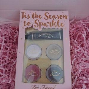 ❤NWT Too Faced Tis the Season to Sparkle
